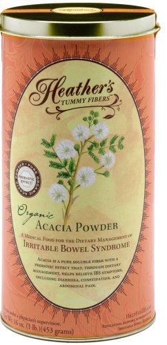 Heather's Tummy Fiber CAN Organic Acacia Senegal  for IBS