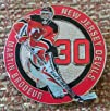 NHL NEW JERSEY DEVILS MARTIN BRODEUR 30 Lapel Pin