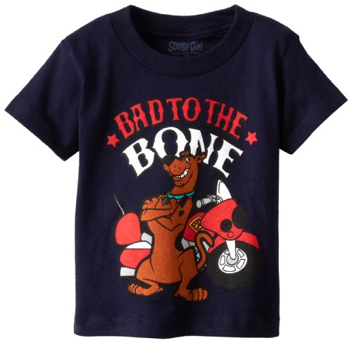 Scooby Doo Little Boys' Bad To The Bone, Navy, 2T front-175721