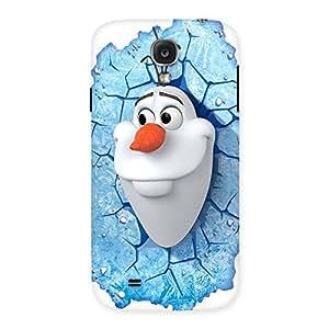 Impressive Snowy Olfa Multicolor Back Case Cover for Samsung Galaxy S4