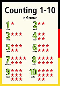 How to write 1 to 10 in german