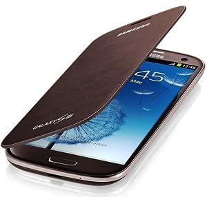 Samsung  Etui rabat pour Samsung Galaxy S3 Marron