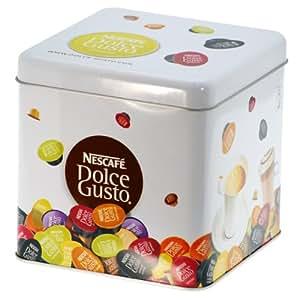 nescaf dolce gusto metallbox kapselbox aufbewahrung f r. Black Bedroom Furniture Sets. Home Design Ideas