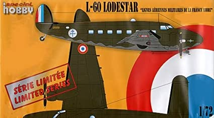 Special Hobby 72255 Lockheed L-60 Lodestar 1:72 Plastic Kit Maquette