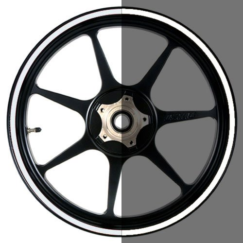 16 to 19 inch Reflective Motorcycle, Scooter, Car & Truck Wheel Rim Stripes