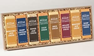 Wisconsin Cheeseman Cheese Bars Gift Assortment 4-Pack