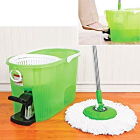 Deluxe Hurricane Spin Mop With Bucket (Color May Vary)