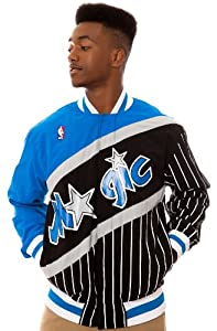 NBA Mitchell & Ness Orlando Magic Authentic Vintage Warm-Up Jacket - Black Royal... by Mitchell & Ness
