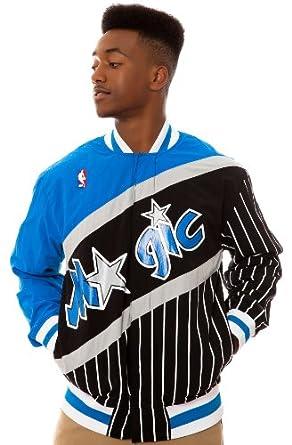 NBA Mitchell & Ness Orlando Magic Authentic Vintage Warm-Up Jacket - Black Royal... by Mitchell & Ness