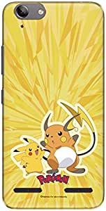 The Racoon Grip printed designer hard back mobile phone case cover for Lenovo Vibe K5. (pikachu an)