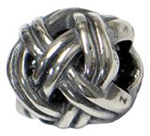 Clevereve Designer Series Zable Sterling Silver 2 Strand Braided Spacer Charm