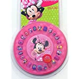 Press On Nails For Girls With Disney Minnie Faces And Friends 25-pieces