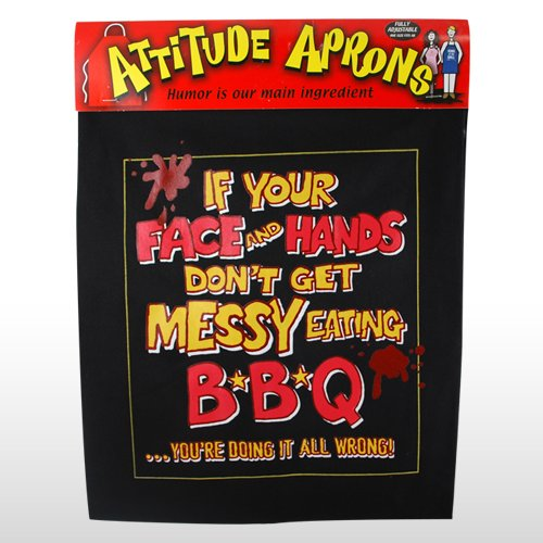 (#2186) Messy Eating BBQ Apron