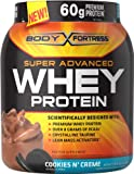 Body Fortress Super Advanced Whey Protein, Cookies 'N Cream, 2 Pounds