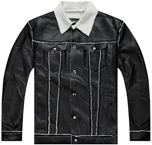 pizoff-hombre-hip-hop-jacket-chaqueta-de-efecto-cuero-con-solapa-efecto-piel-de-oveja-rizada-y1191-l