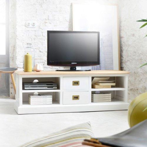 meuble tv teck massif pas cher. Black Bedroom Furniture Sets. Home Design Ideas