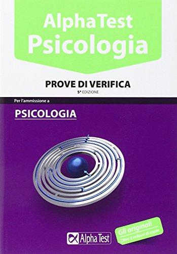libro alpha test psicologia 5600 quiz con software di