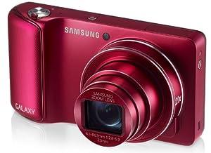 """Samsung - Galaxy Camera - Appareil photo numérique - Android 4.1 - Zoom optique 21x - Écran tactile 4,77"""" - Rouge"""