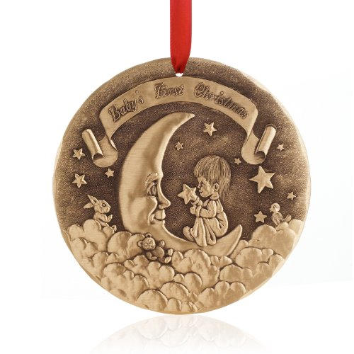 Engraved Baby's First Christmas Ornament
