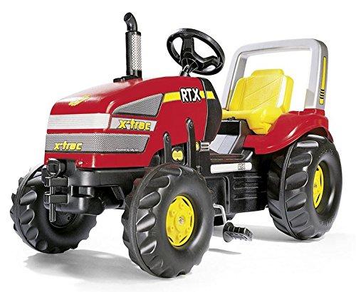 Rolly Toys FS 035557 - X-Trac, Trattore 120 cm, colore: Rosso