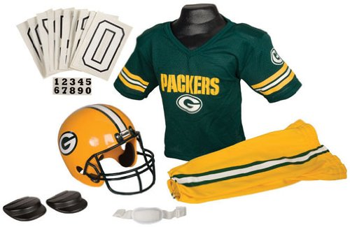 Franklin Green Bay Packers Youth Uniform Set