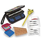 RDS Industries Nintendo 3DS Game Traveler Essentials Pack - Pokemon Group with Pikachu Stylus