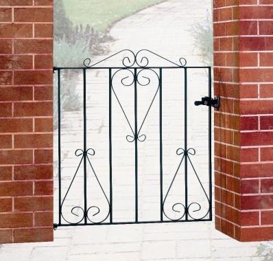 Metal garden gate Classic 838MM OPENING X 914MM HIGH