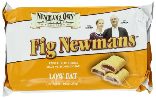 Newman'S Own Organics Fig Newmans, Low Fat, 10-Ounce Packages (Pack Of 6)