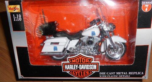 Maisto Harley Davidson Motorcycles (Series 7 2000) 1:18 Scale Alabama State Trooper
