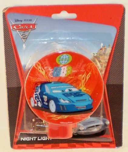 Disney Pixar Cars 2 WGP Raoul Caroule Night Light