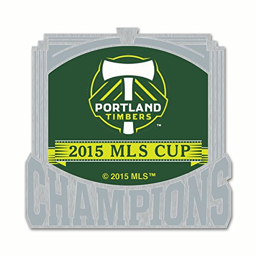 Portland Timbers Wincraft 2015 MLS Cup Champions Collectors Metal Pin