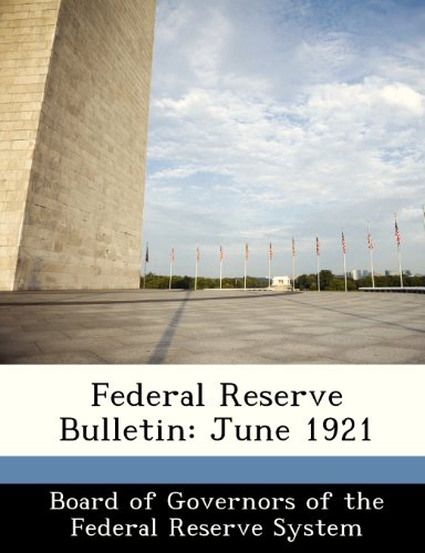 Federal Reserve Bulletin: June 1921