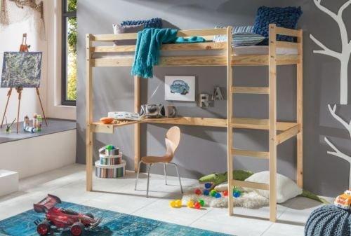 Kinderbett-Hochbett-DENNIS-Etagenbett-mit-Schreibtisch-massiver-Kiefer-90x200-cm-Natur