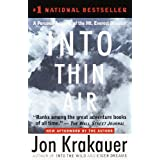 Into Thin Air: A Personal Account of the Mt. Everest Disaster ~ Jon Krakauer