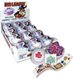Big League Chew Gum, Gumballs, Stickers & Tattoos! ~ Party Favor, Baseballs - 12 Pack