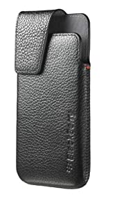 BlackBerry Leather Swivel Holster for BlackBerry Z10 - Black