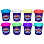 Play-Doh Plus Color Set, NET WT 8OZ,...