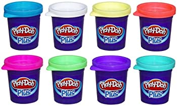 8-Pack of Play-Doh Plus