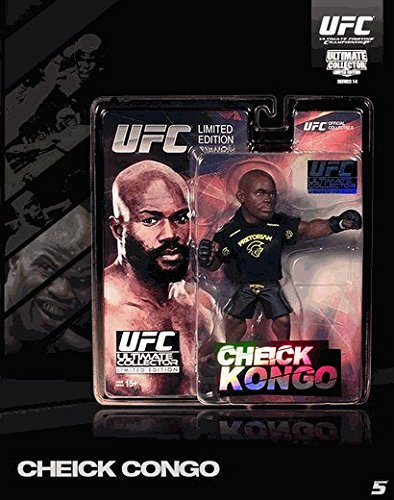 Chieck Kongo Round 5 UFC Ultimate Collector Series 14 Limited Edition #750