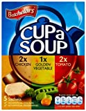 Batchelors Cup a Soup Variety Pack 5 Sachets 101 g (Pack of 9)