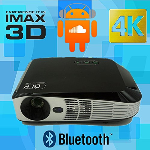 Video review new android shutter 3d hd dlp projector for Dlp pico projector price
