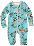 Disney Baby-Boys Newborn Tigger Let's Bounce Sleep and Play Romper