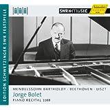 Mendelssohn / Beethoven / Liszt: Jorge Bolet - Piano Recital, 1988