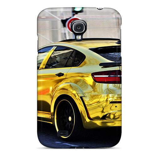 New Design Shatterproof Qdgjzbz8321Jurig Case For Galaxy S4 (Bmw X6 M Hamann In Gold) front-718929