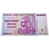 5億 ジンバブエドル ハイパーインフレ紙幣 500,000,000ジンバブエドル 5億ドル