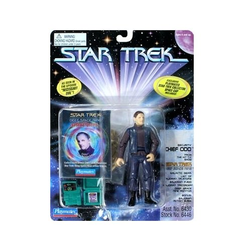 Star Trek: Deep Space Nine Series 3 Chief Odo from Necessary Evil Action Figure