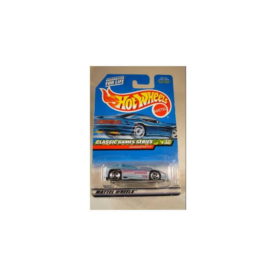 Mattel Hot Wheels Classic Games Series #2 of 4 cars, Silhouette II #982 164 Scale