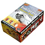 511qDsLwMyL. SL160  Heat Factory Emergency Preparedness Pack (6 Day Supply Hand, Foot & Body Warmers, 1 Mylar Blanket, 2 Glow Sticks)