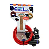 Oxford Cable Lock Red