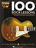 img - for 100 Rock Lessons - Guitar Lesson Goldmine Series (Book/CD) book / textbook / text book